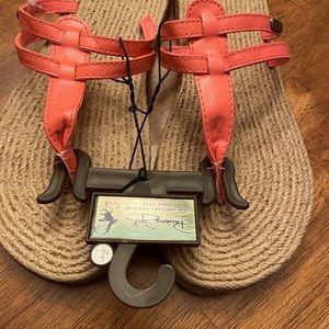 NWT Panama jack flip flops